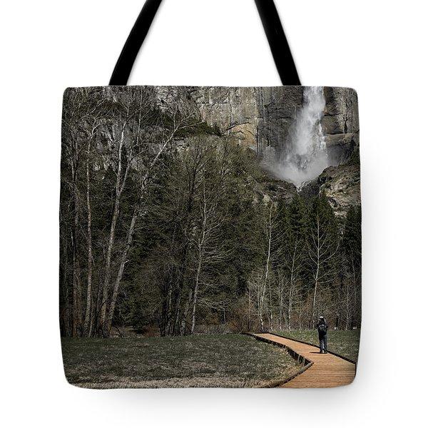Memories Of Yosemite Tote Bag by Eduard Moldoveanu