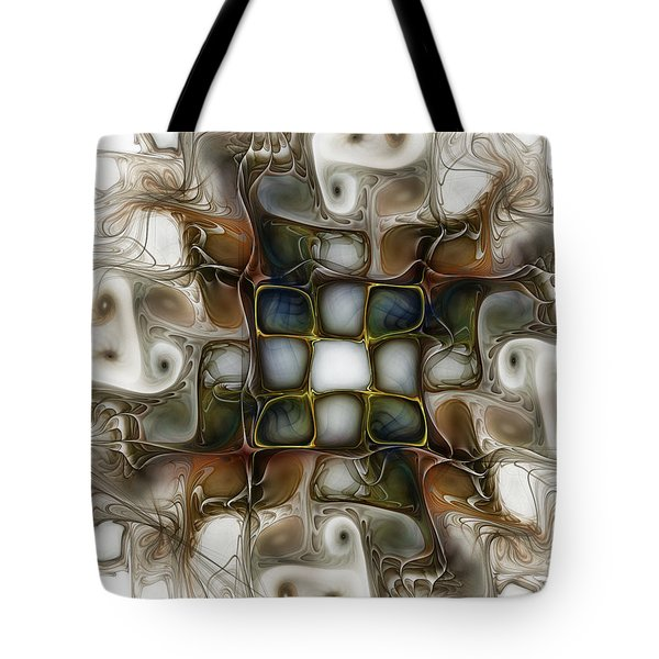 Memory Boxes-fractal Art Tote Bag by Karin Kuhlmann