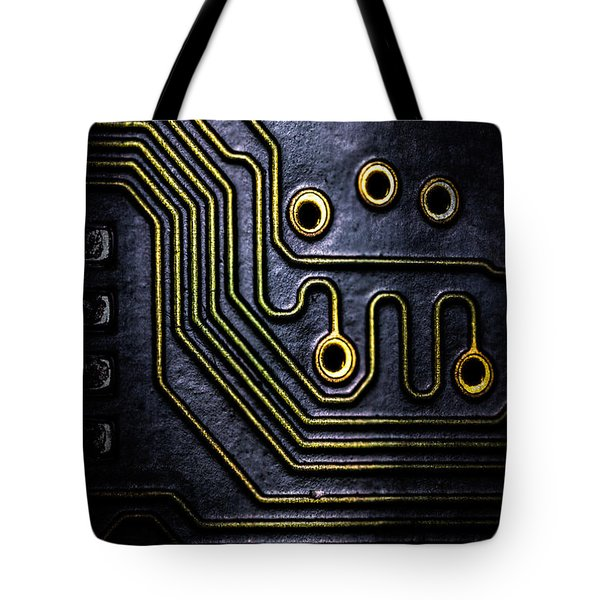 Memory Chip Number Two Tote Bag by Bob Orsillo