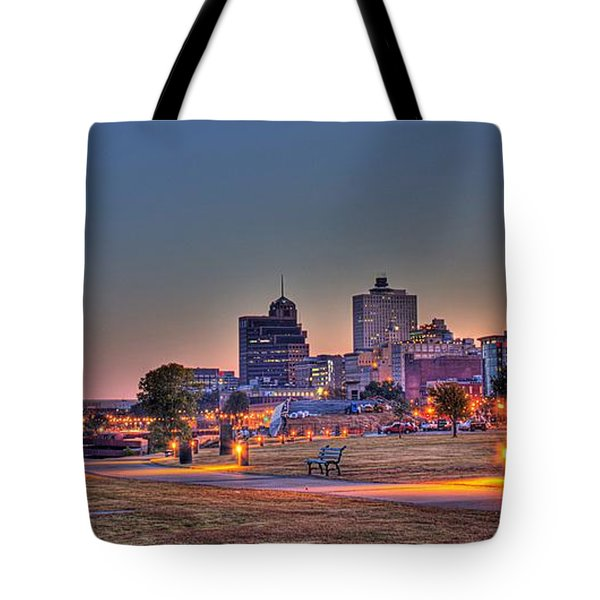 Cityscape - Skyline - Memphis At Dawn Tote Bag