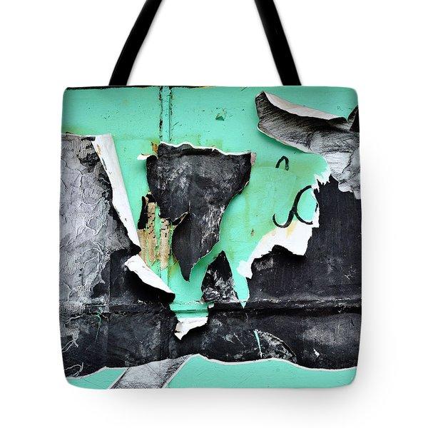 Memphis Found Art Green Good On Ya Tote Bag by Steve Archbold