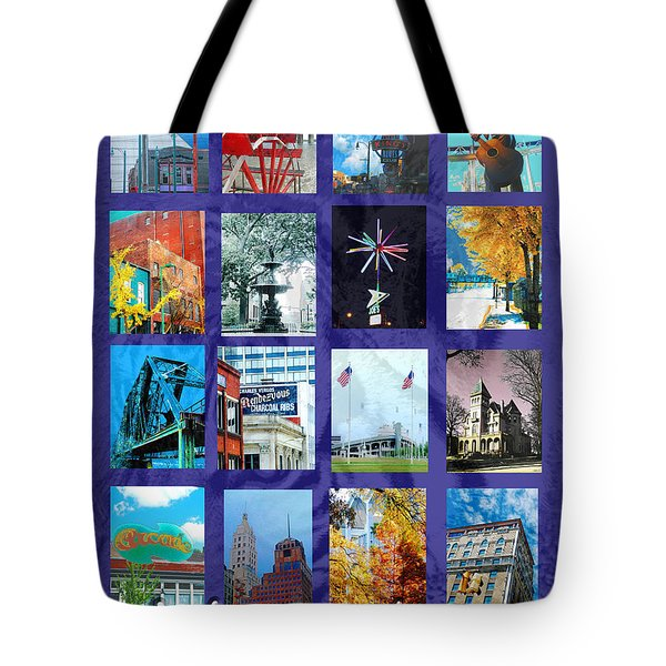 Memphis Tote Bag by Lizi Beard-Ward