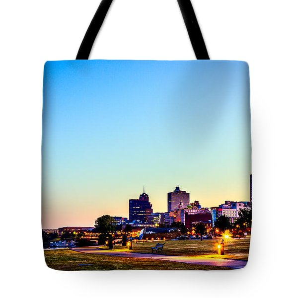 Memphis Morning - Bluff City - Tennessee Tote Bag