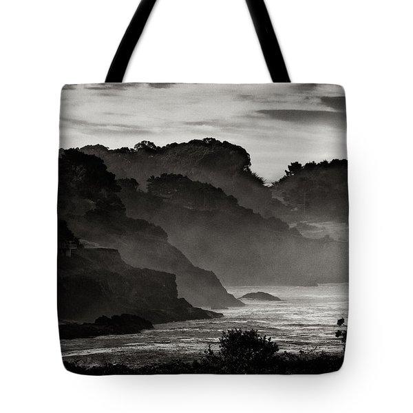 Mendocino Coastline Tote Bag