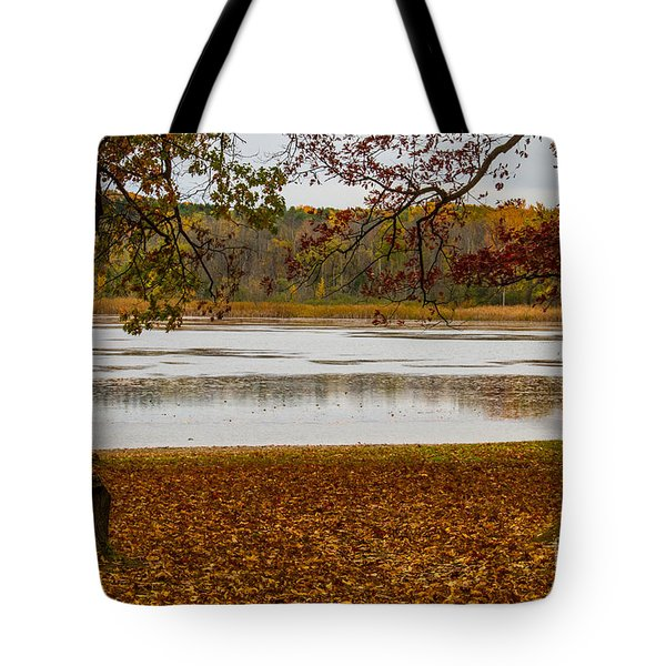 Tote Bag featuring the photograph Mendon Ponds by William Norton