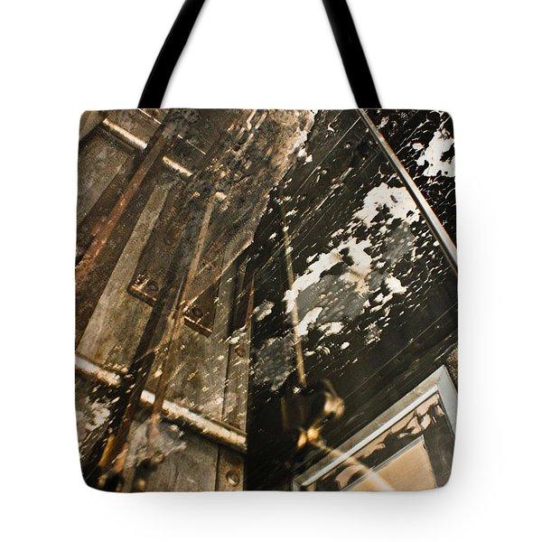 Mental Analysis  Tote Bag by Joel Loftus