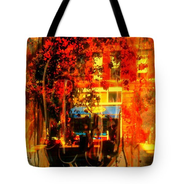 Mental Void Tote Bag by Kelly Awad
