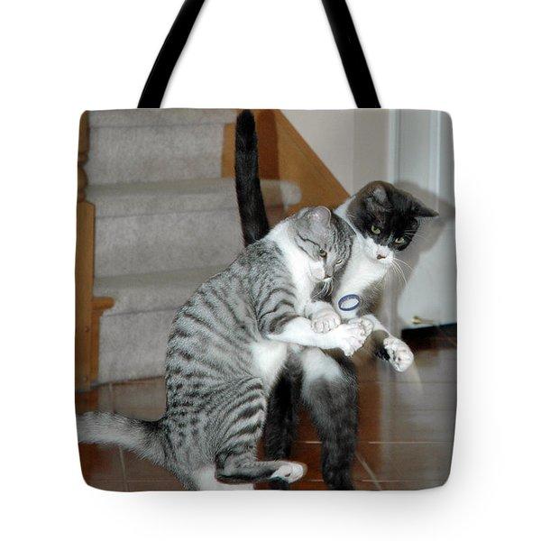 Meow Vows Tote Bag