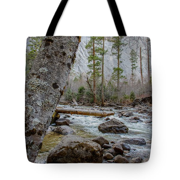 Merced River From Happy Isles Tote Bag