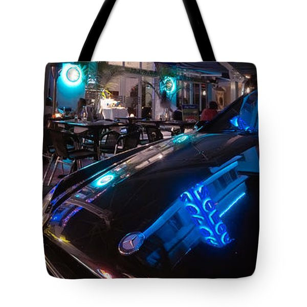Mercedes At The Colony Tote Bag