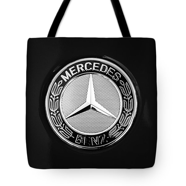 Mercedes-benz 6.3 Gullwing Emblem Tote Bag