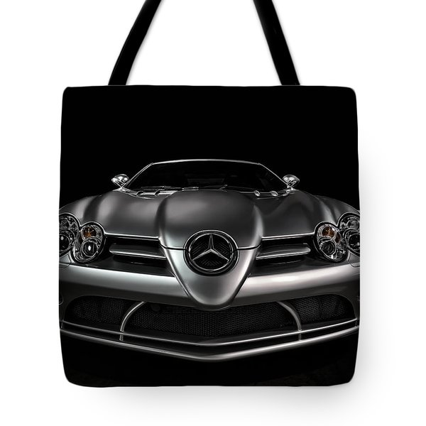Mercedes Mclaren Slr Tote Bag
