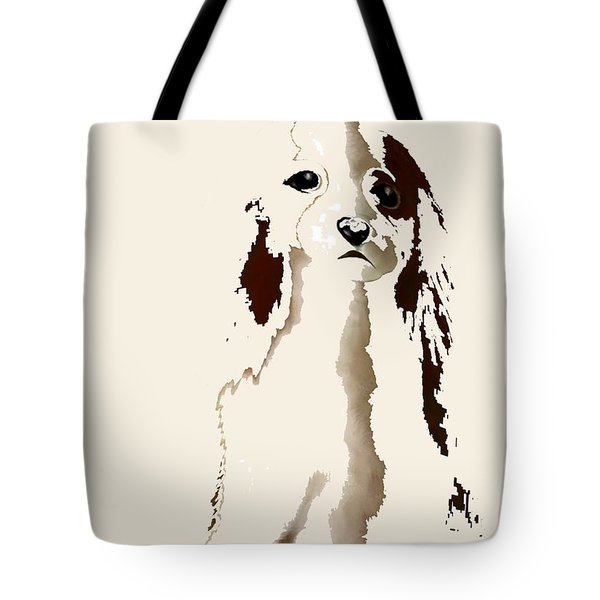 Mercedes  - Our Cavalier King Charles Spaniel  No. 9 Tote Bag