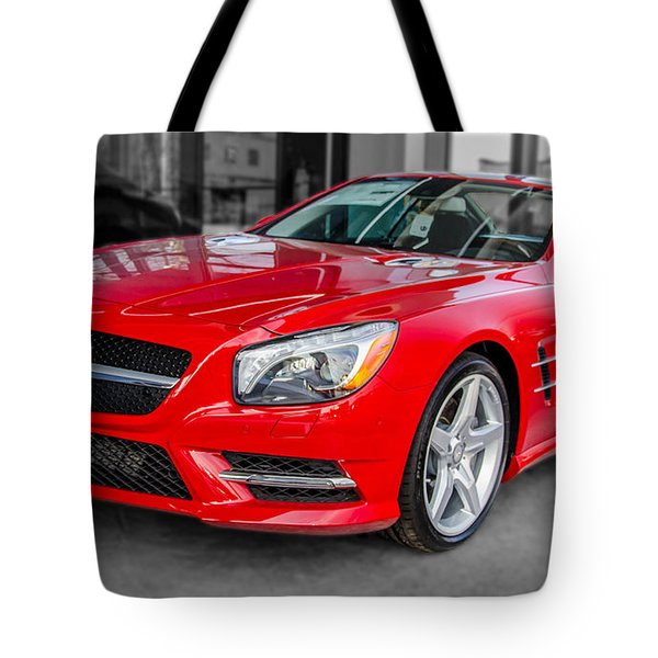 Mercedes Sl550   7d01718 Tote Bag