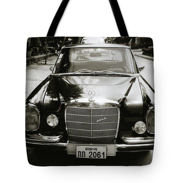 Mercedez Benz Tote Bag