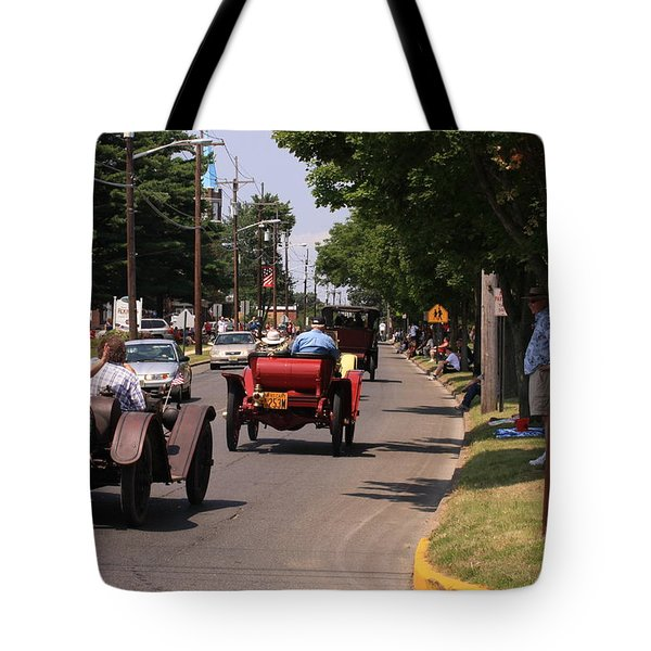 Mercers On Parade Tote Bag