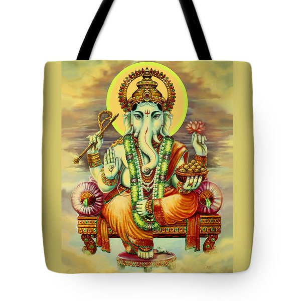 Merciful Ganesha Tote Bag