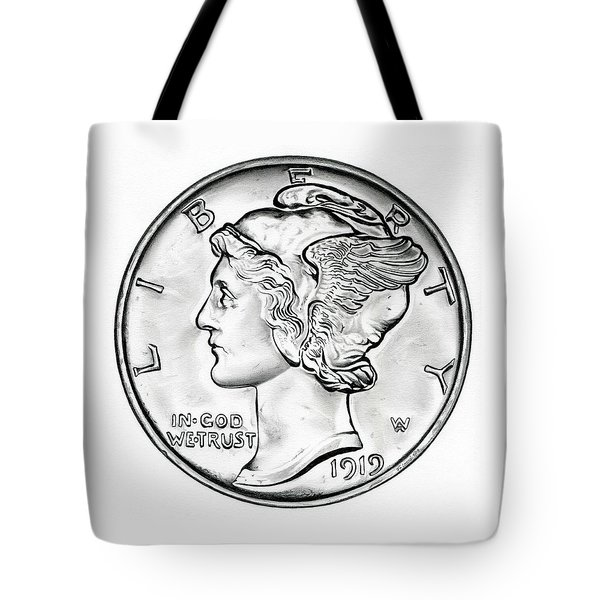 Mercury Tote Bag by Fred Larucci