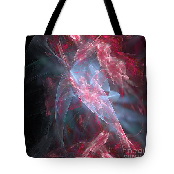 Tote Bag featuring the digital art Mercy And Truth Have Met Together Righteousness And Peace Have Kissed by Margie Chapman