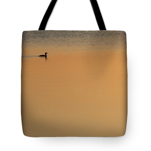 Merganser Duck, Cape Cod, Ma Usa Tote Bag