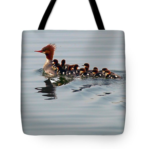 Punk Duck And Posse Tote Bag