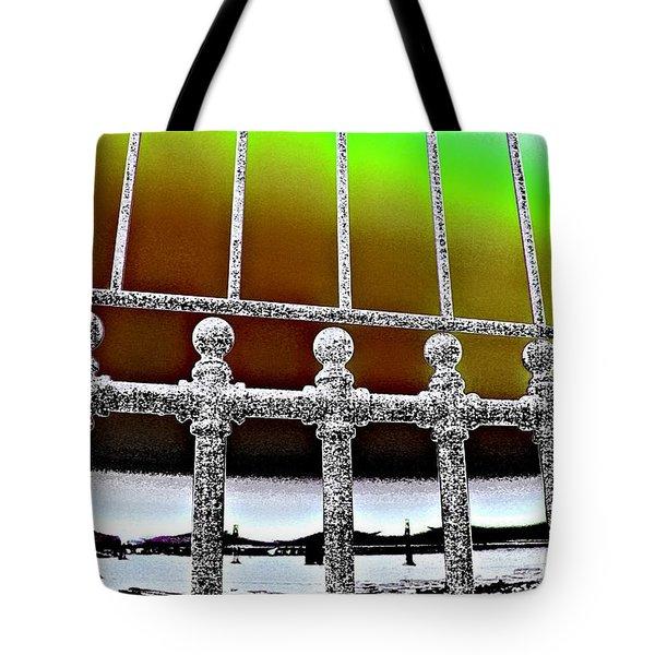 Merger Tote Bag by Nick David