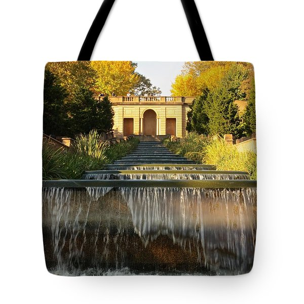Meridian Hill Park Waterfall Tote Bag