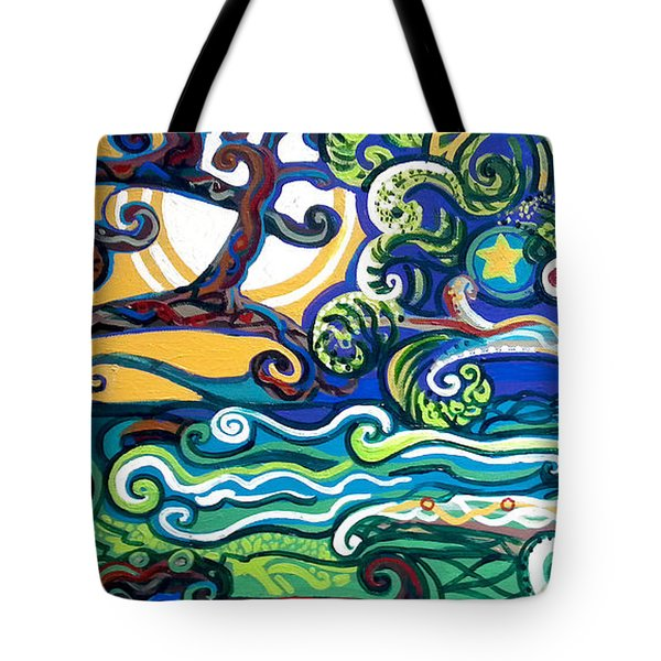 Merlin Tree Heart-hur Tote Bag by Genevieve Esson