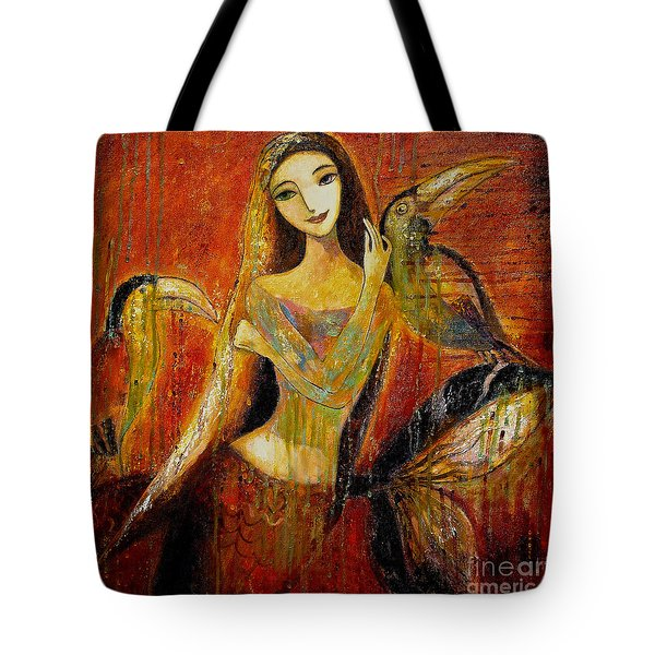Mermaid Bride Tote Bag by Shijun Munns