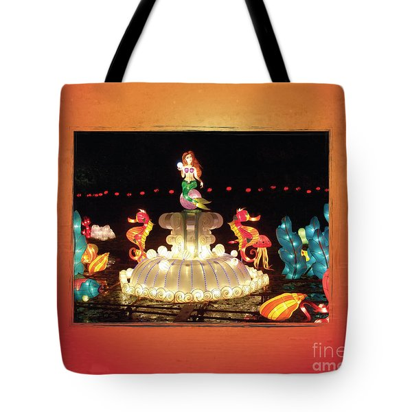 Mermaid Tote Bag by Cheryl McClure