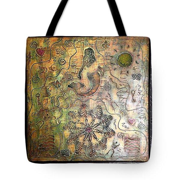 Mermaid Goddess By Alfredo Garcia Tote Bag