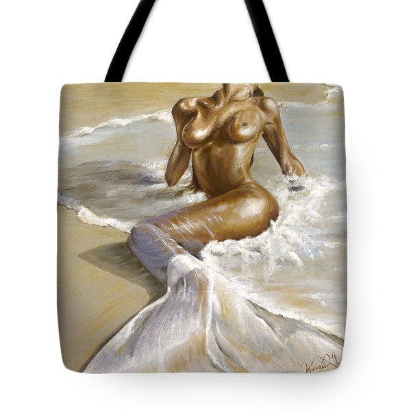 Mermaid Tote Bag by Karina Llergo