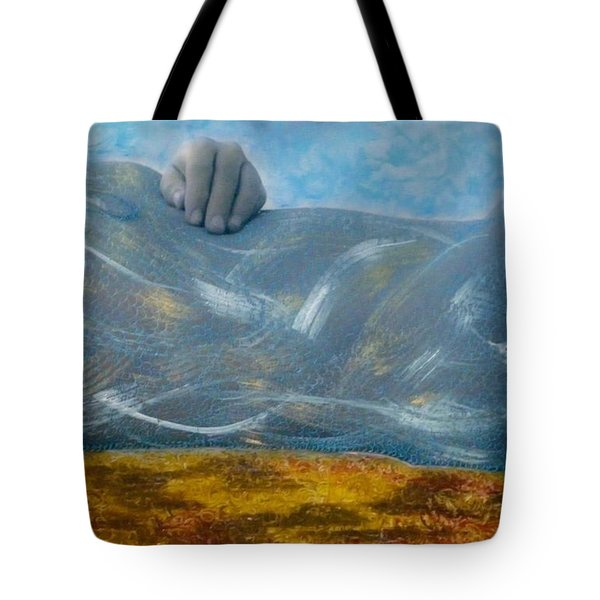 Tote Bag featuring the photograph Mermaid by Lesley Fletcher