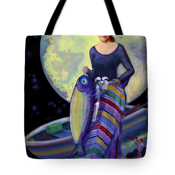 Mermaid Mother Tote Bag by Carol Jacobs