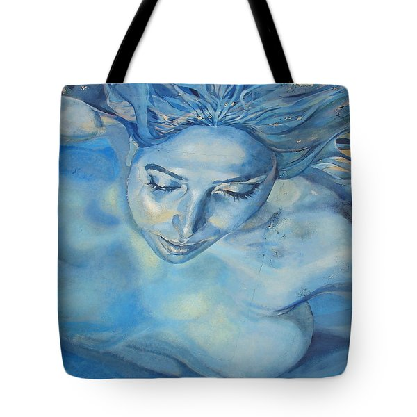 Mermaid Tote Bag by Ramona Johnston