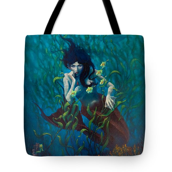 Mermaid Tote Bag by Rob Corsetti