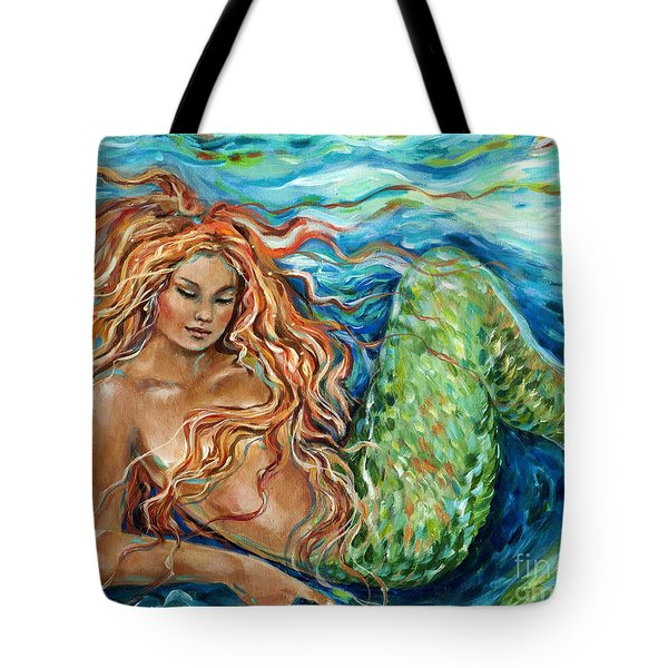 Mermaid Sleep New Tote Bag