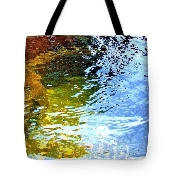 Mermaids Den Tote Bag by Deborah Moen