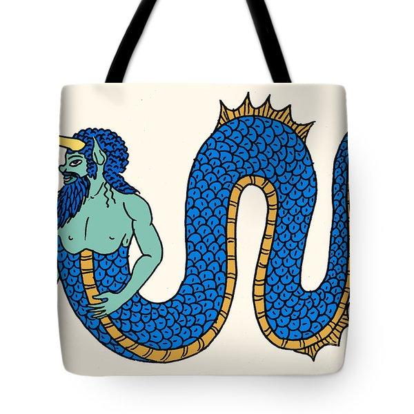 Merman Tote Bag by Science Source