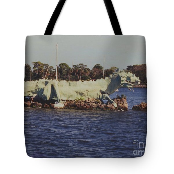 Merritt Island River Dragon Tote Bag