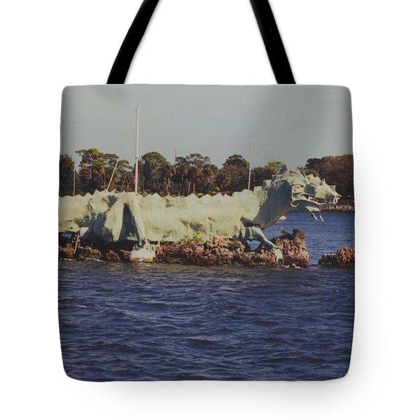 Merritt Island River Dragon Tote Bag