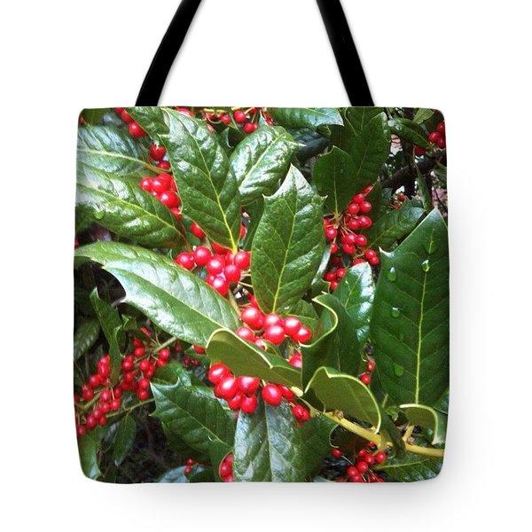 Merry Berries Tote Bag