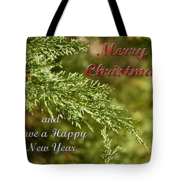 Merry Christmas 01 Tote Bag