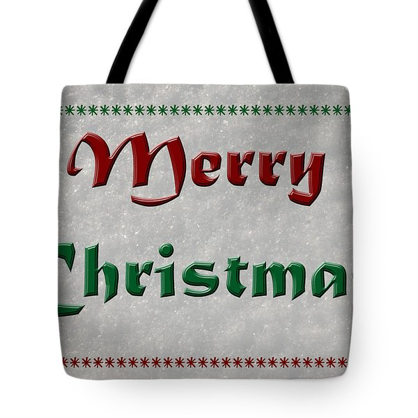 Merry Christmas Tote Bag by Aimee L Maher Photography and Art Visit ALMGallerydotcom
