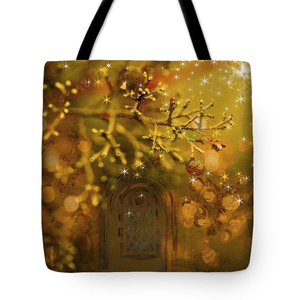 Merry Christmas Tote Bag by Angela A Stanton