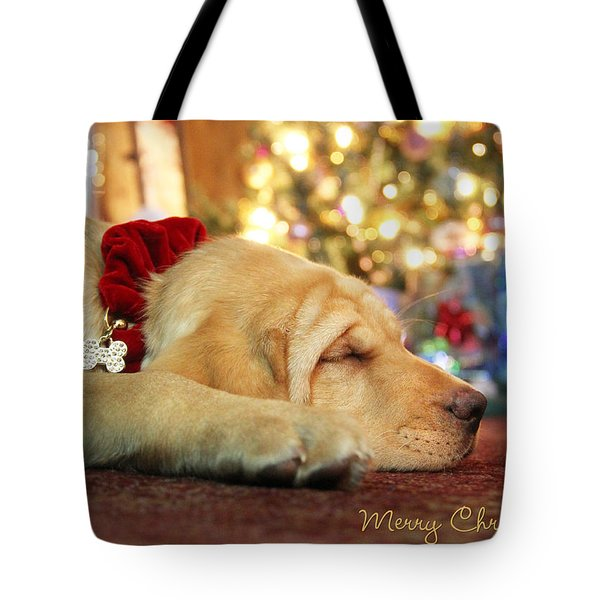Merry Christmas From Lily Tote Bag by Lori Deiter