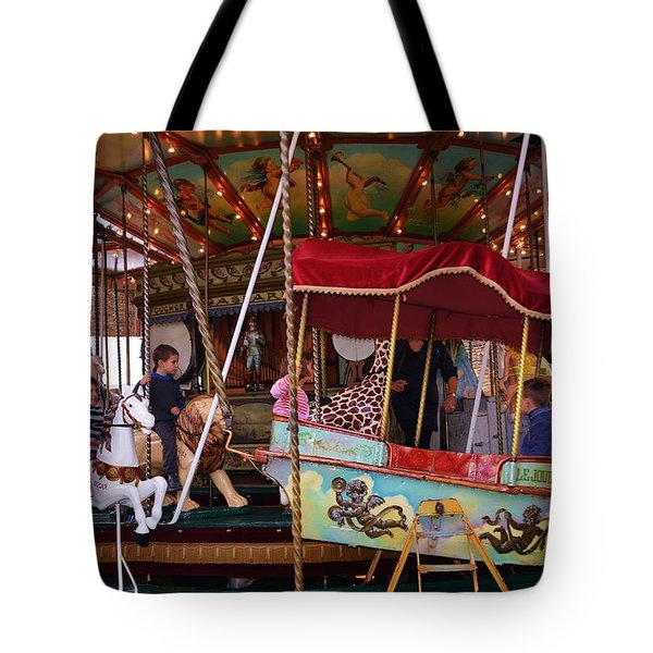 Merry Go Round Tote Bag by Dany Lison