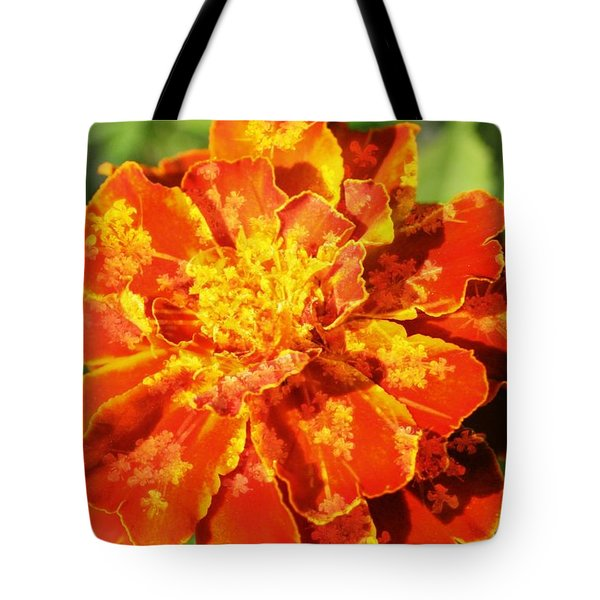 Merry Marigold Tote Bag