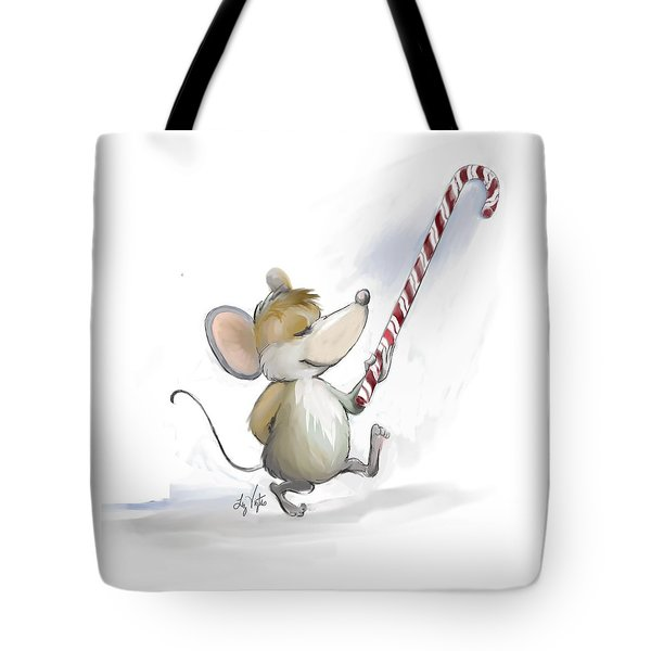Merry Mouse Moe Tote Bag