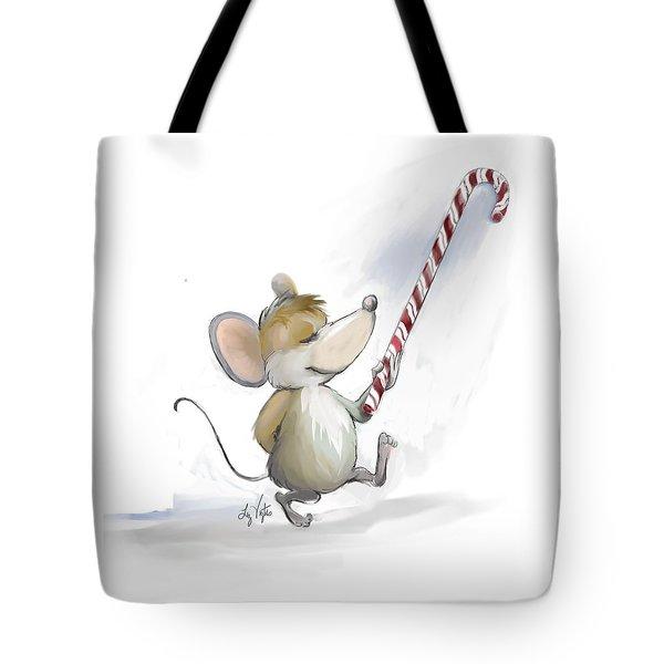 Merry Mouse Moe Tote Bag